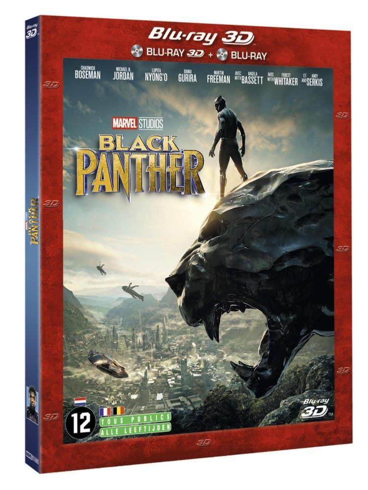 Black Panther [Blu ray 3D + Blu Ray]