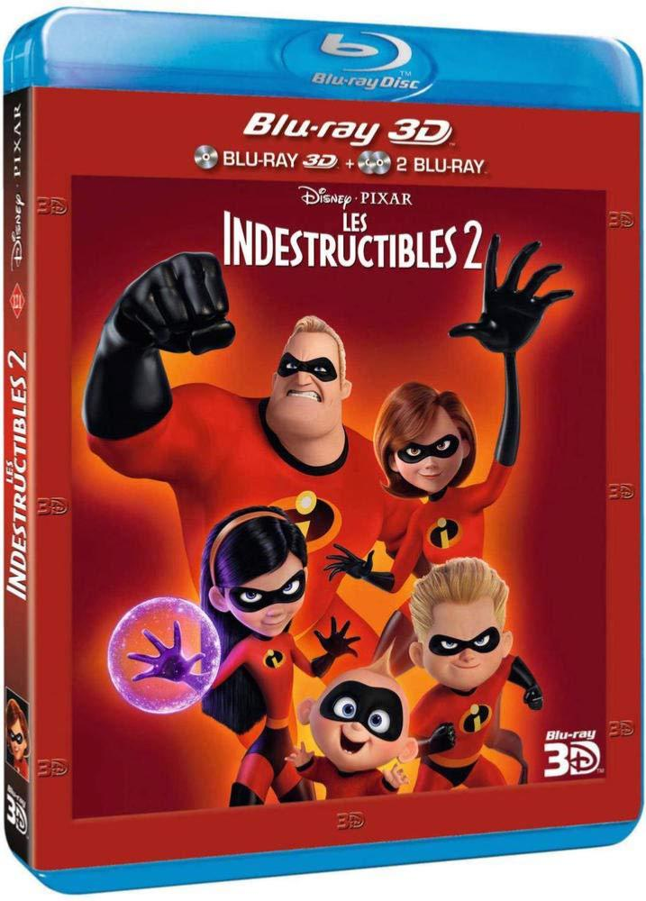 Les Indestructibles 2 [Combo Blu-ray 3D + Blu-ray 2D]