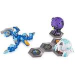 Spin Master - Bakugan Battle Plane Battle Brawlers Aquos Pyravian Blue 3