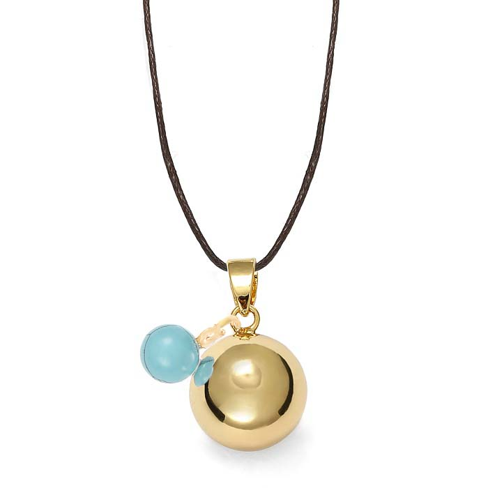 bola-grossesse-dore-turquoise