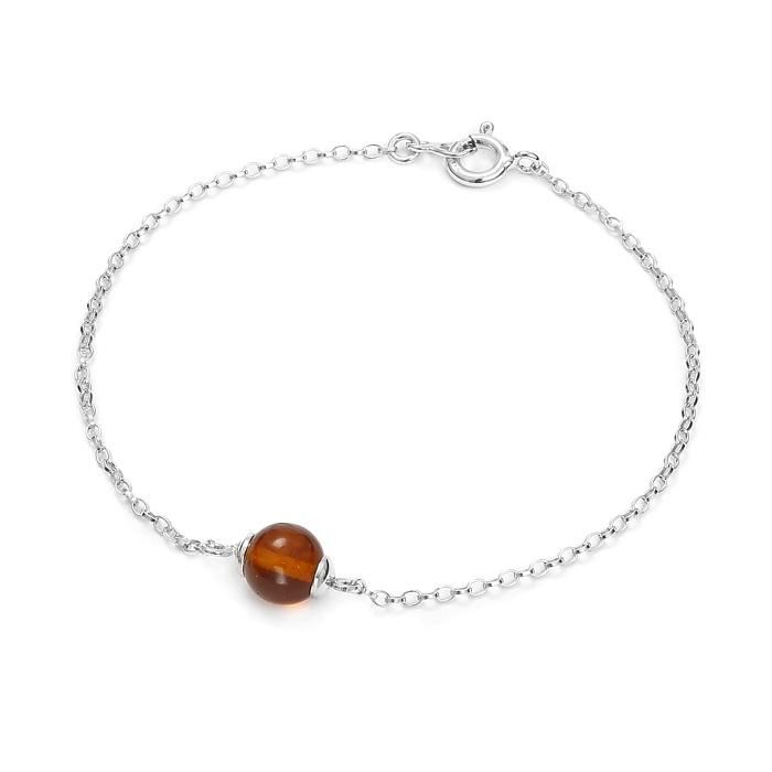 bracelet-argent-ambre
