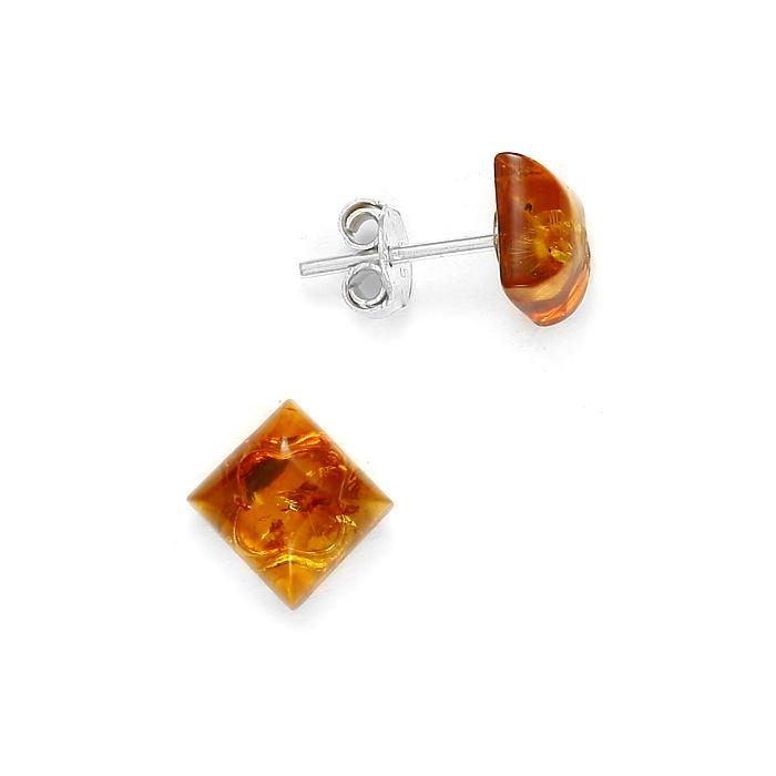 boucle-oreille-carree-ambre