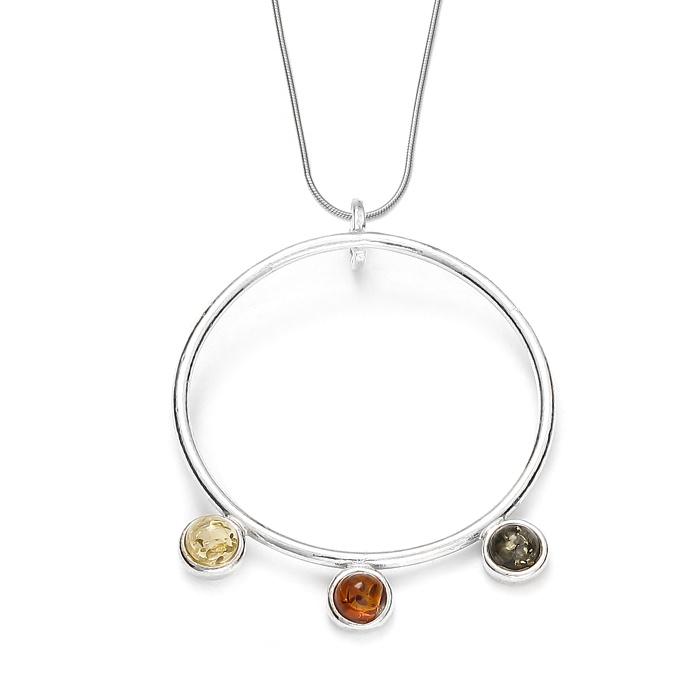 collier-billes-ambre-multicolore