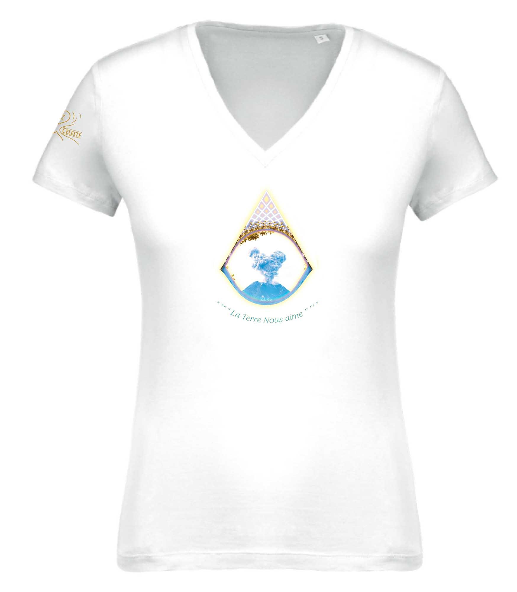 T-shirt La Terre nous aime