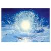 Méditation- Francois Schlesser-Plexiglas-Carte postale-Poster-Nature Céleste-BD