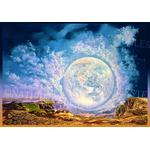 Vision globale-François Schlesser-Plexigla-carte postale-reproduction-art lumière1