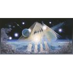 Vaisseau spirituel-Francois Schlesser-Plexiglas-Carte postale-Poster-Nature Céleste-BD