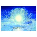 Meditation-Francois-Schlesser-Nature-Céleste-Poster-Carte-postale-Plexiglas COP3