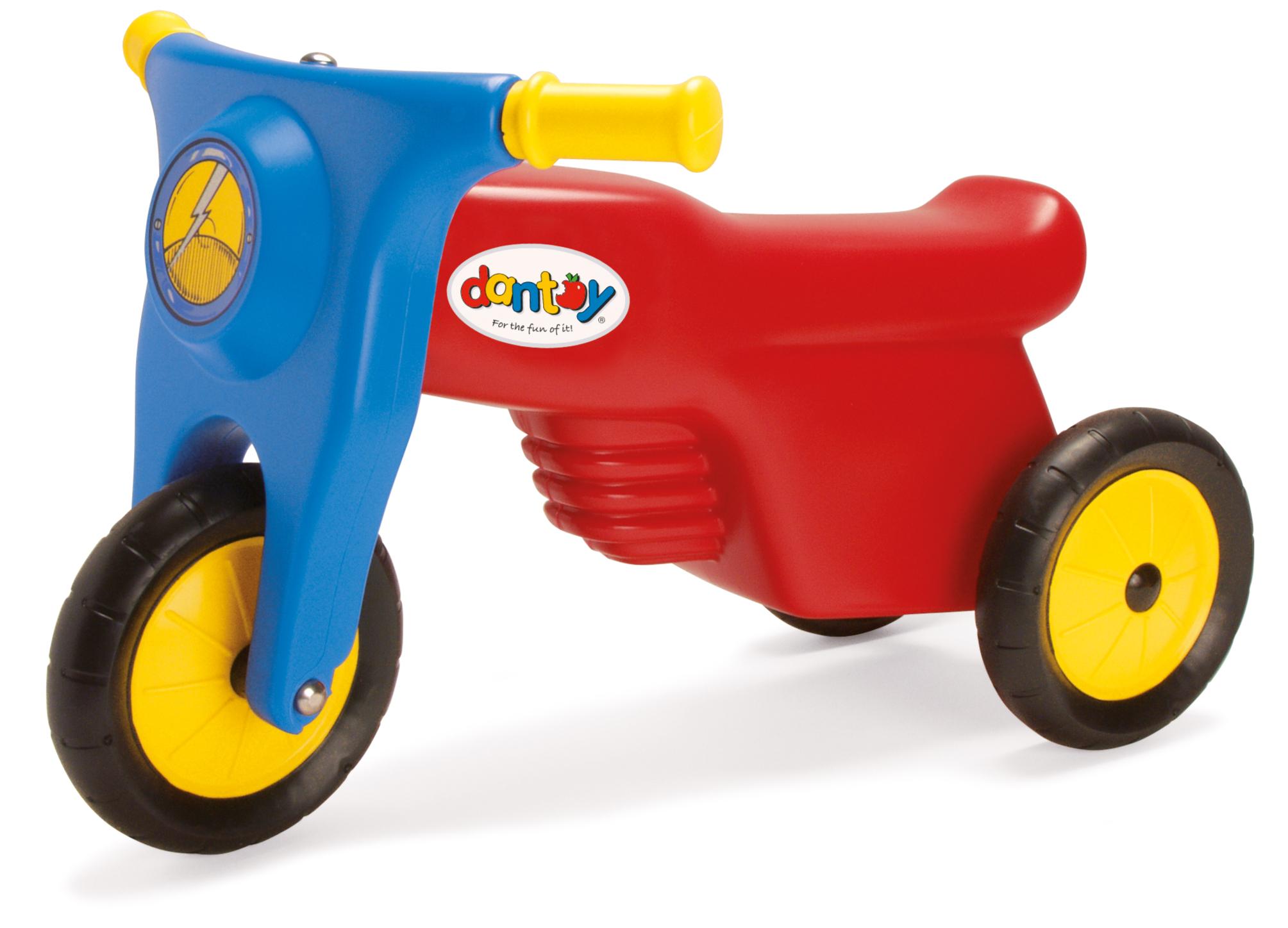 dantoy jouet bio plastique écologique écolabel moto scooter classique