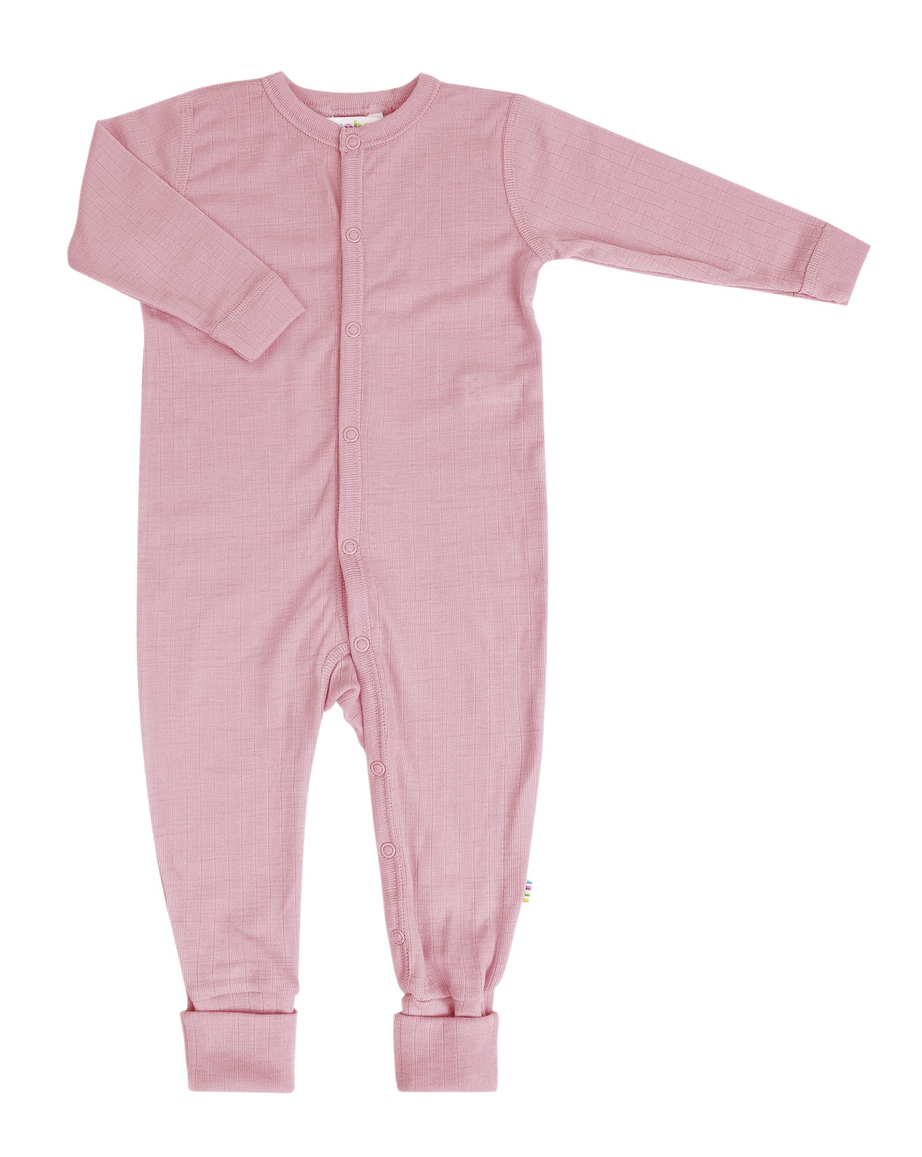 joha pyjamas laine mérinos rose
