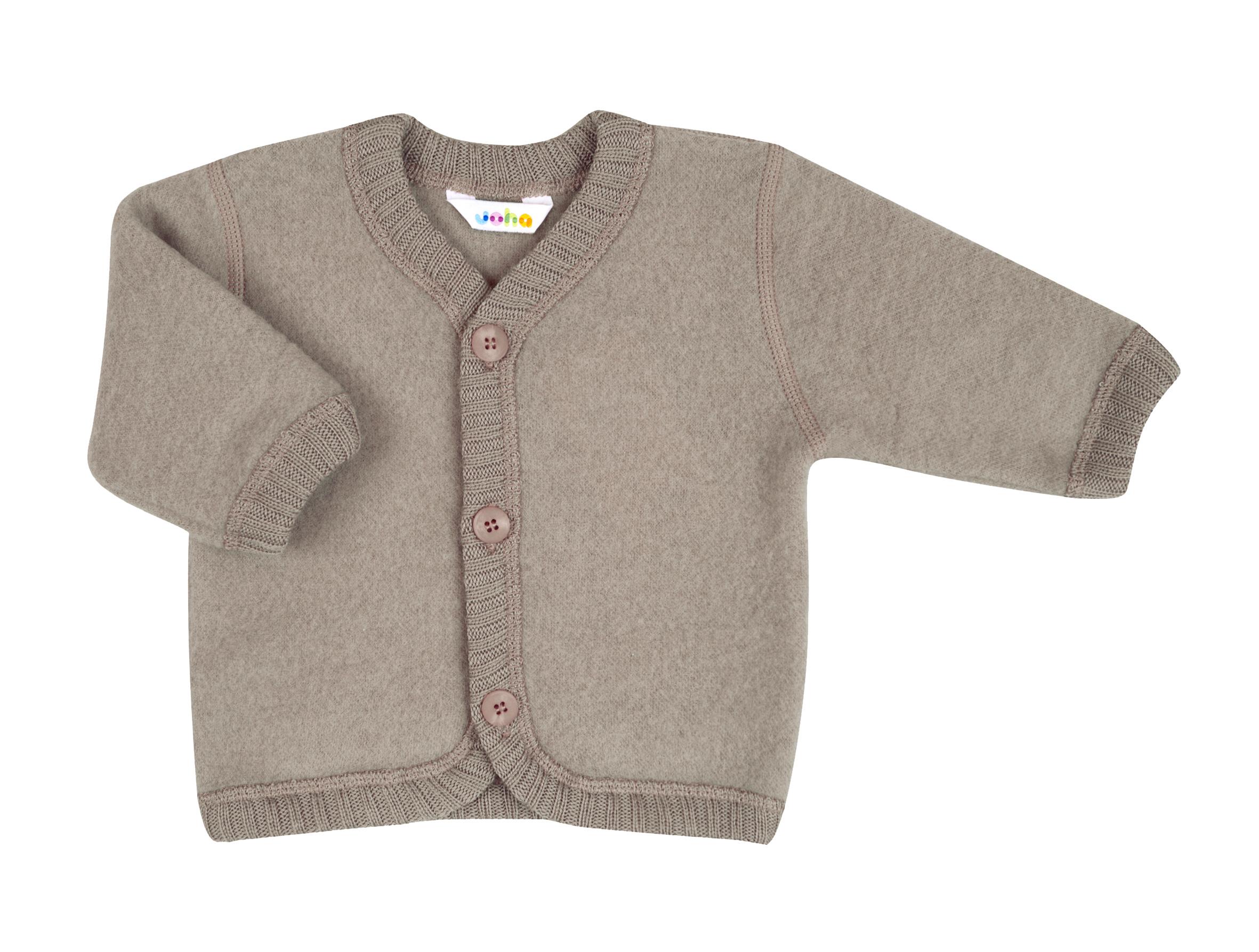 joha cardigan laine brossée sable