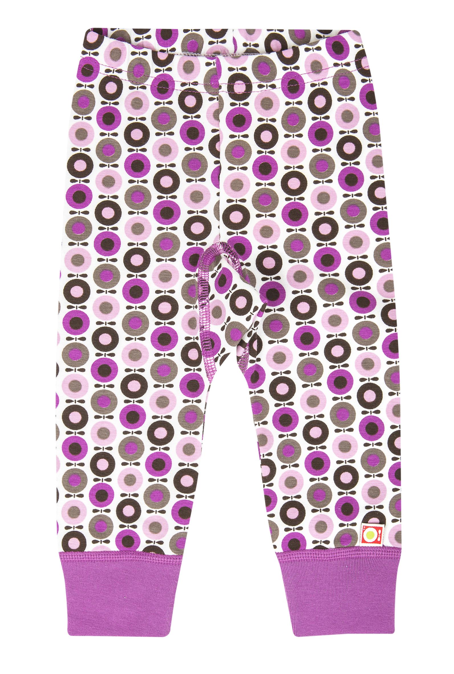 katvig pantalon legging rose mini pommes