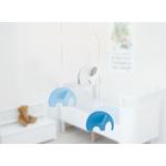 Flensted mobile décoratif décoration enfant éléphant bleu