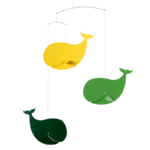 Flensted mobile décoratif décoration enfant baleine heureuse