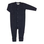 joha pyjamas laine merinos bleu marine