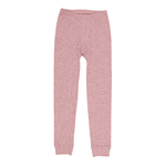 joha legging laine mérinos rose