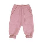 joha pantalon laine brossée rose