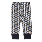 katvig pantalon legging bleu marron mini pommes