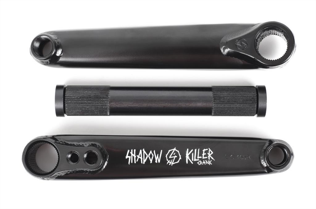 Pédalier SHADOW Killer 165mm