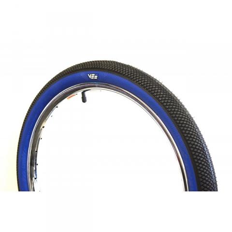 pneu vee tire speedster 20 black blue pneus chambres air pneus bmx avenue. Black Bedroom Furniture Sets. Home Design Ideas