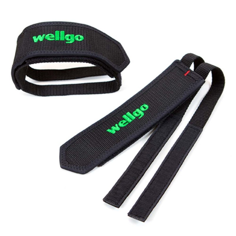 footstraps wellgo black transmision straps cale pieds. Black Bedroom Furniture Sets. Home Design Ideas