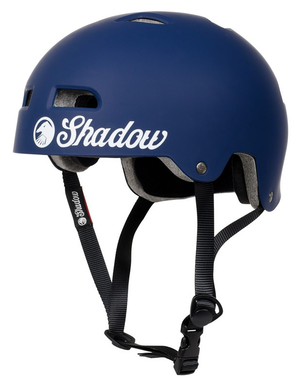 casque shadow classic matte blue protections freestyle. Black Bedroom Furniture Sets. Home Design Ideas
