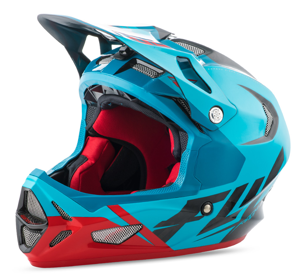 Casque FLY RACING Werx Ultra blue/red/black