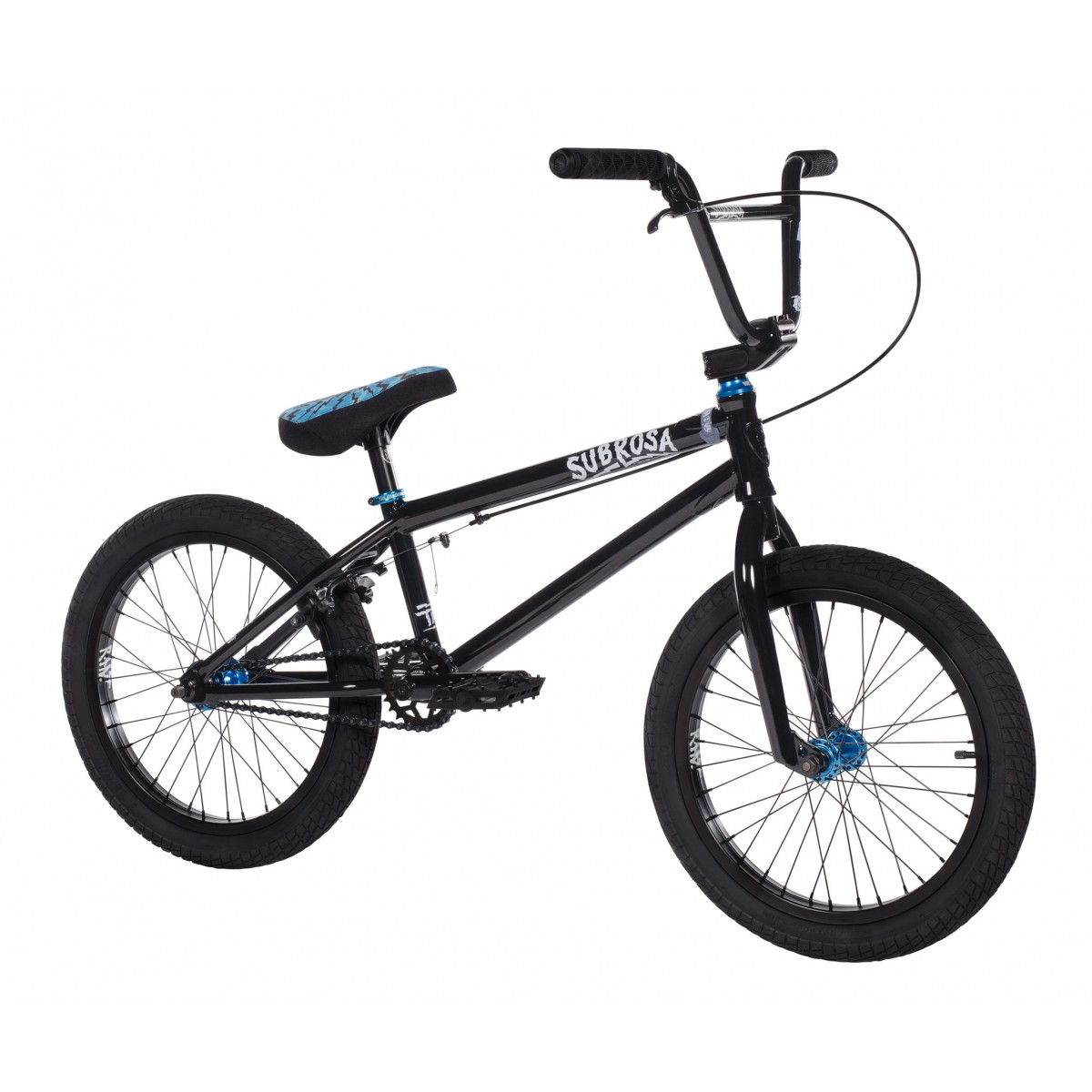 bmx subrosa tiro 18 gloss black 2018 bmx freestyle bmx. Black Bedroom Furniture Sets. Home Design Ideas