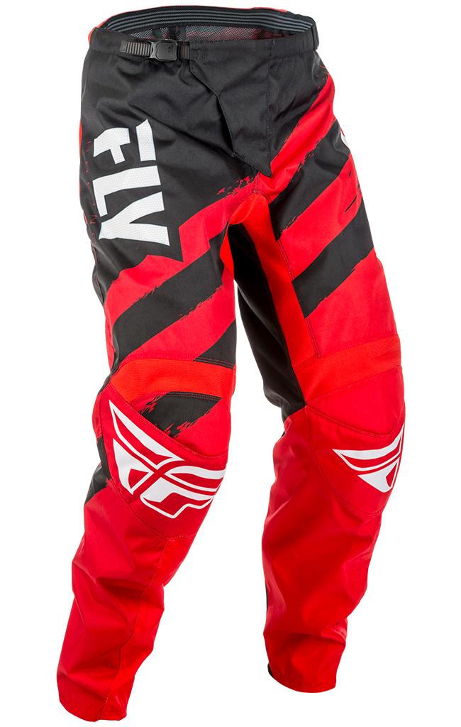 Pantalon FLY RACING F-16 red/black junior 2018