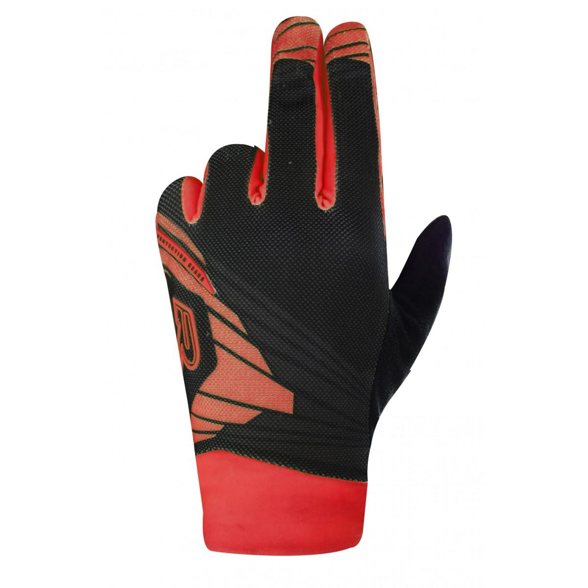 Gants RACER Light Speed 2 black/red