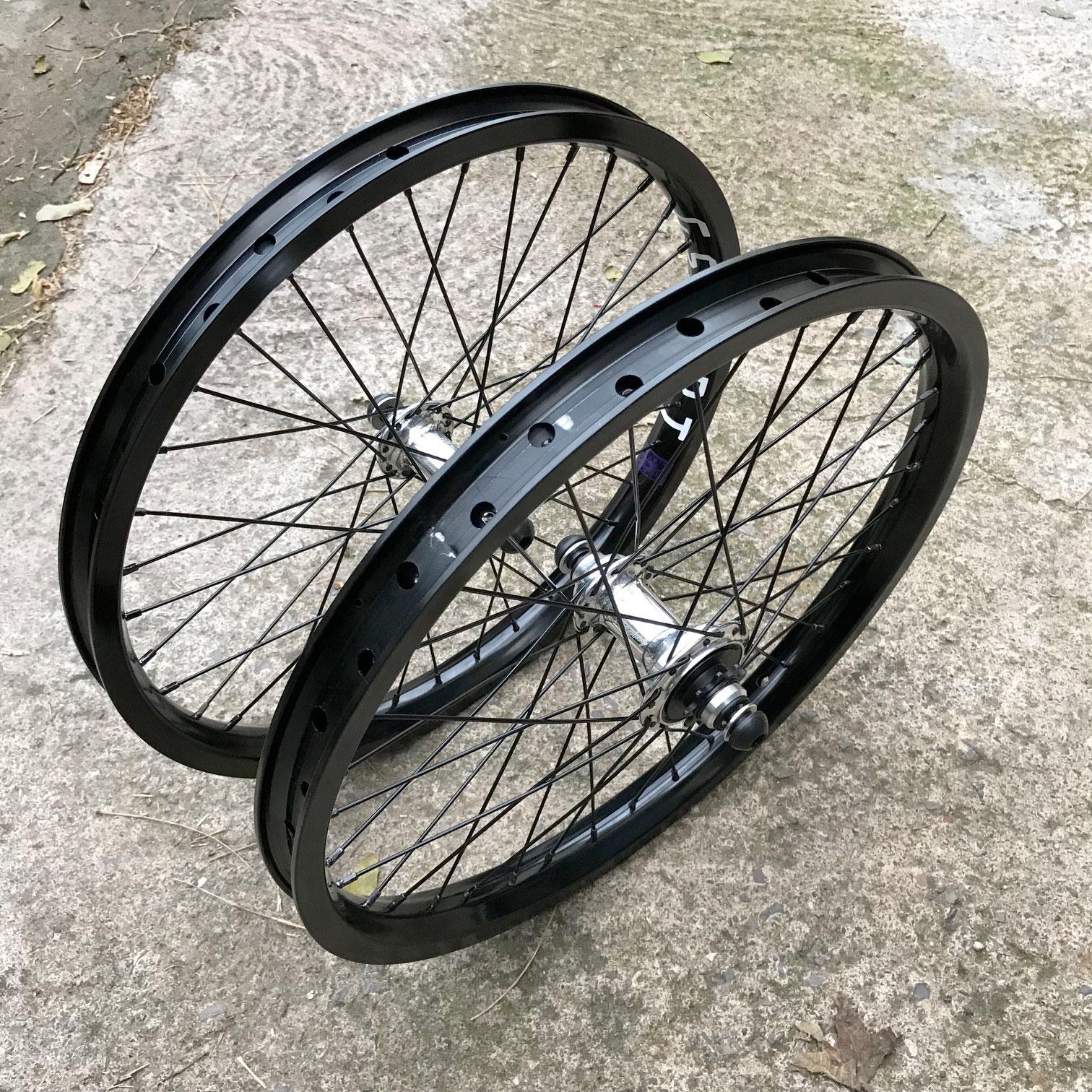 Paire de roues PROFILE ELITE VS G SPORT custom polish LHD