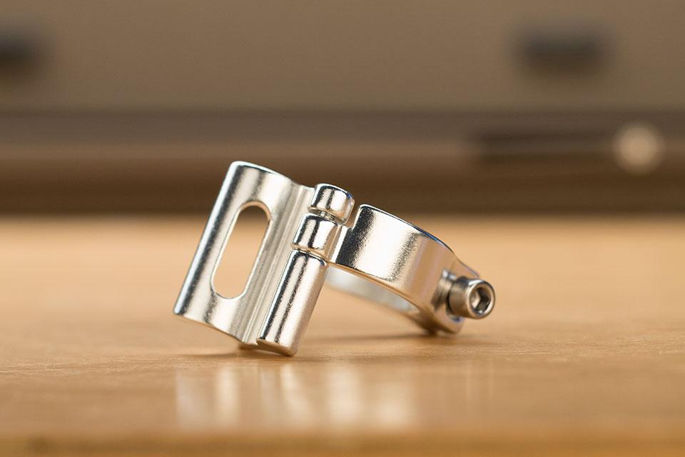 Collier de dérailleur PROBLEM SOLVER à brazer 28.6mm