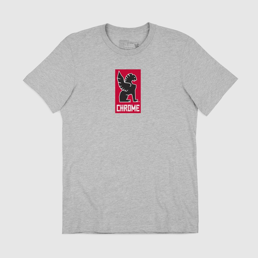 Tee shirt CHROME Lock Up grey