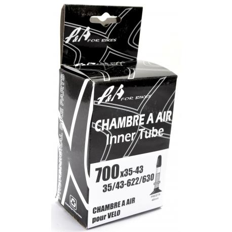 Chambre à air P&A 700 X 35/43C VP 40mm