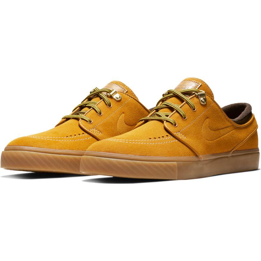 Shoes NIKE SB Zoom Janoski Premium beige gum - SHOES NIKE - BMX AVENUE fa6f0022909e
