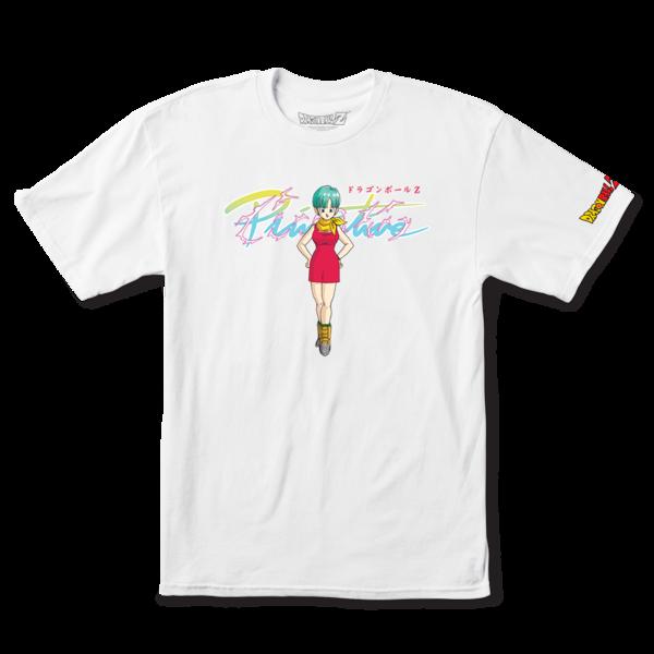 Tee shirt PRIMITIVE DBZ Bulma white
