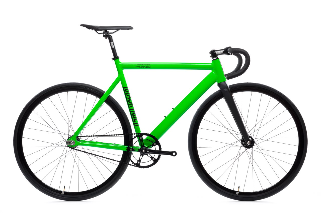 Vélo STATE 6061 Black Label V2 zombie green