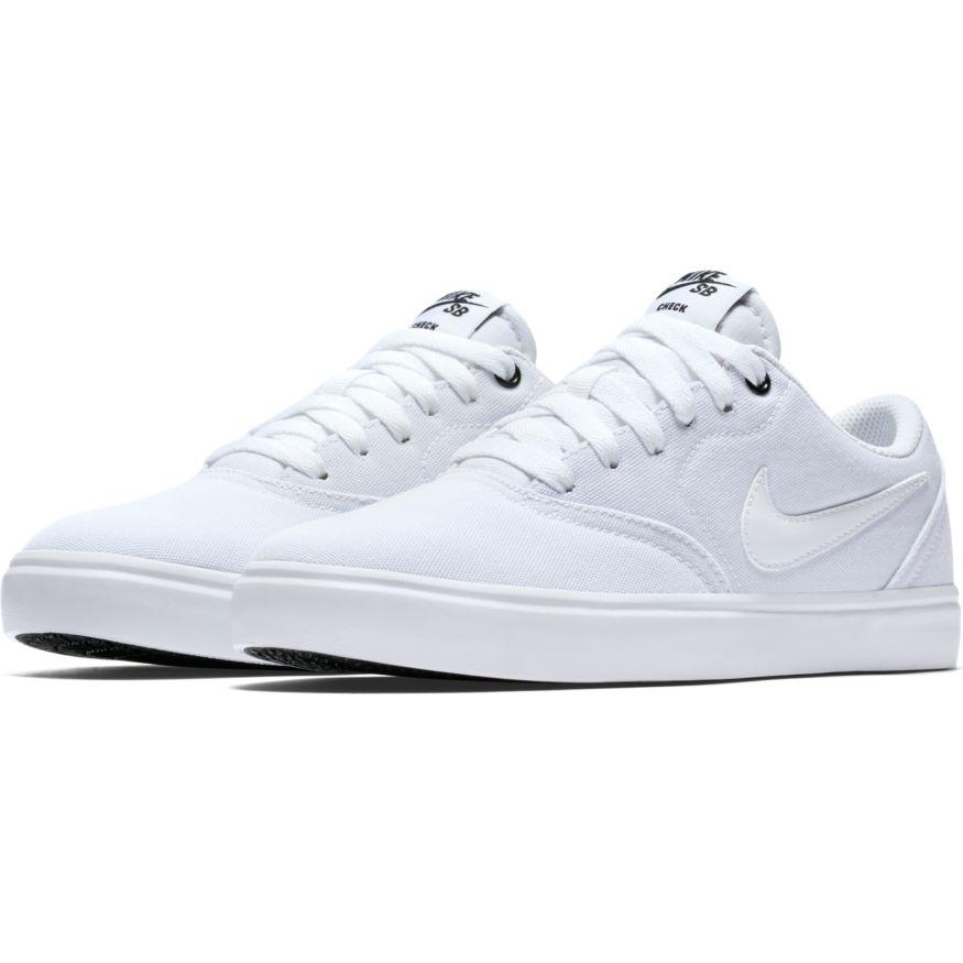 sports shoes 2f515 15ce9 Shoes NIKE SB Check Solarsoft canvas white - SHOES/NIKE - BMX AVENUE