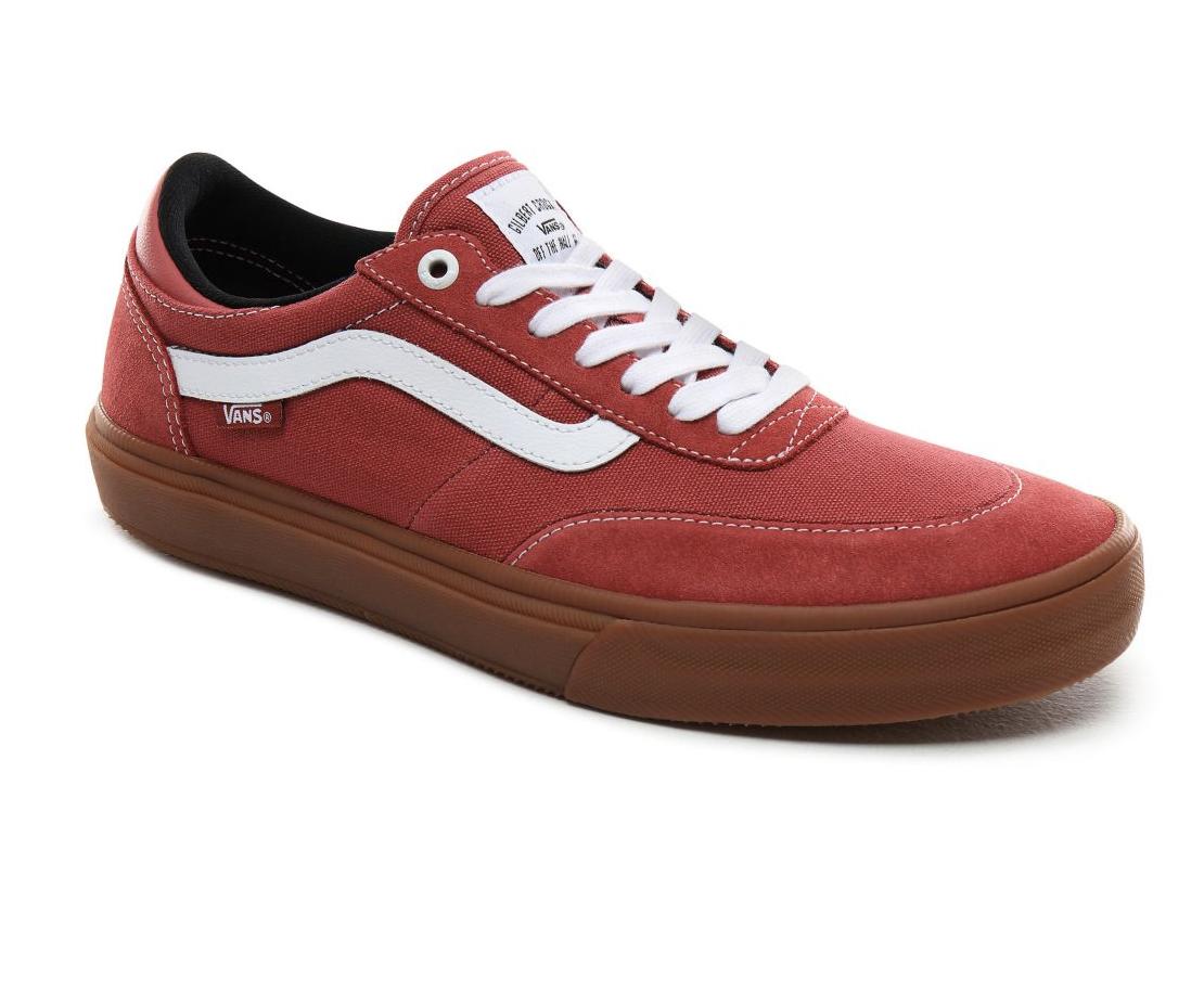 Shoes VANS Gilbert Crockett 2 pro (Gum) Mineral redTrue white