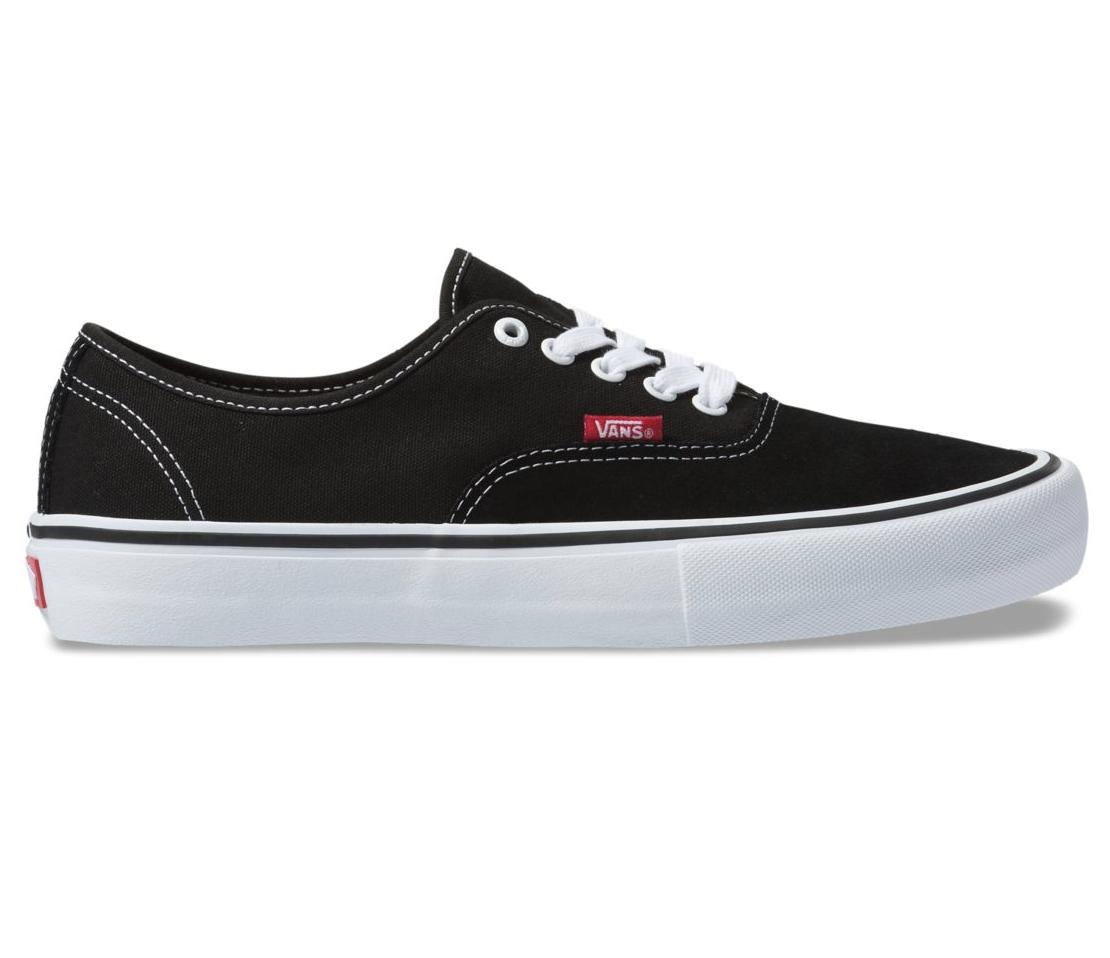 Shoes VANS Authentic Pro black/true white