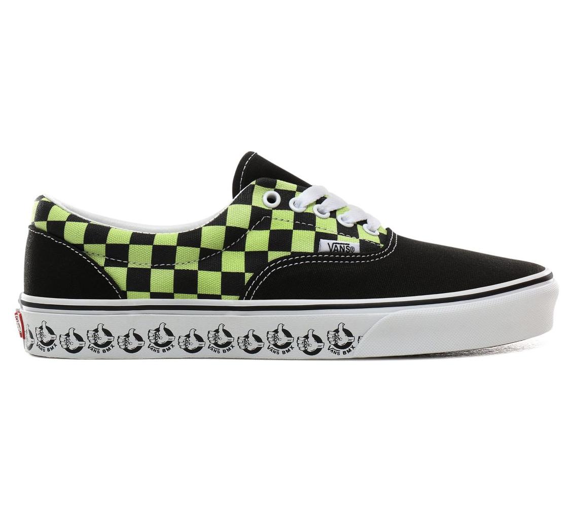 Shoes VANS Era (Vans BMX) Black/Sharp Green