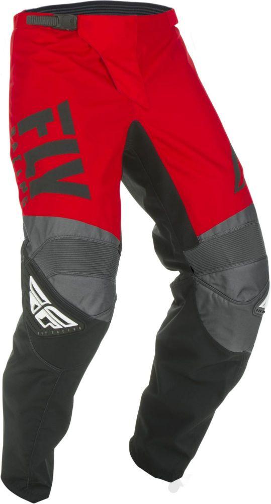 Pantalon FLY RACING F-16 red/black/grey junior 2019