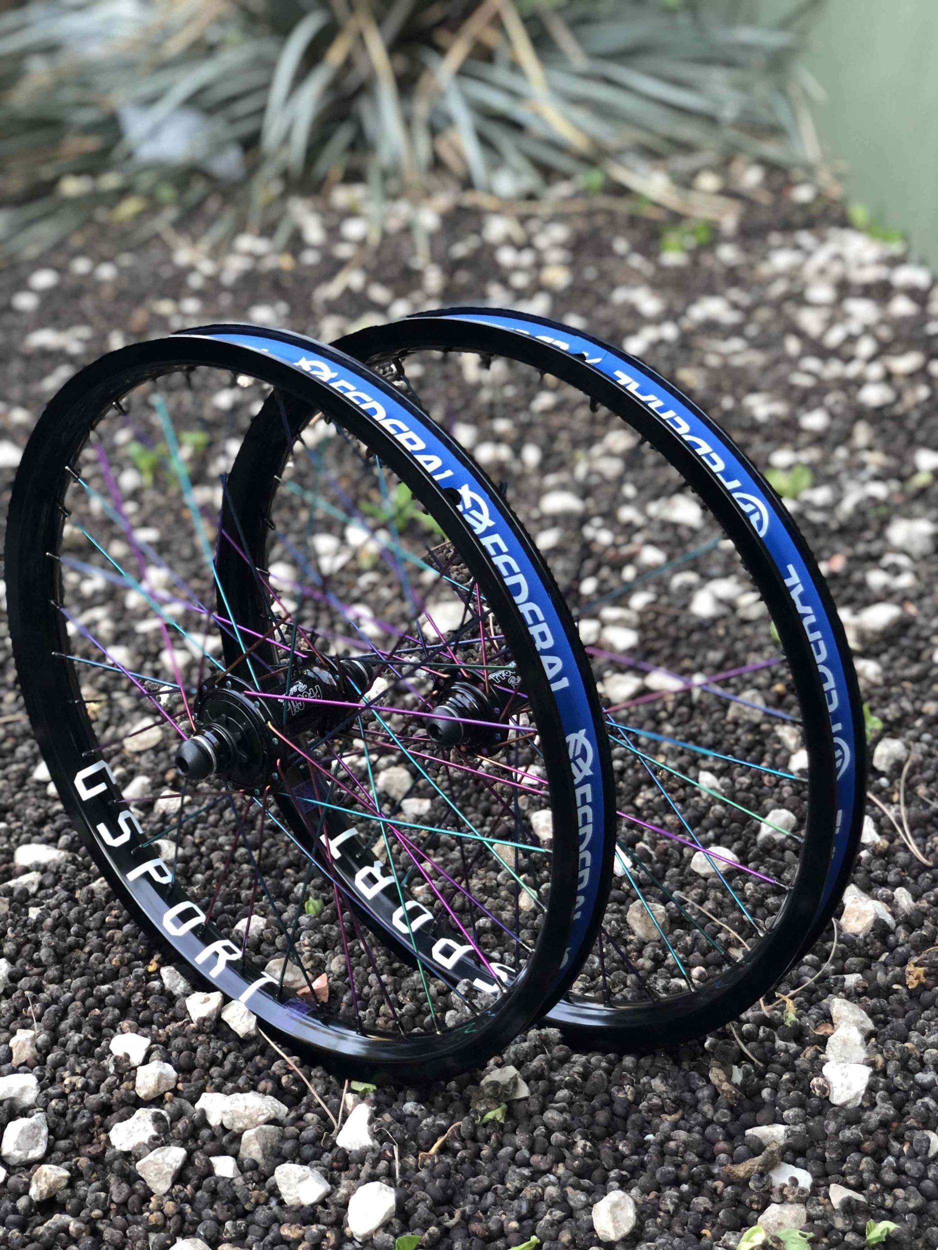 Paire de roues custom PROFILE Elite X G-SPORT Birdcage