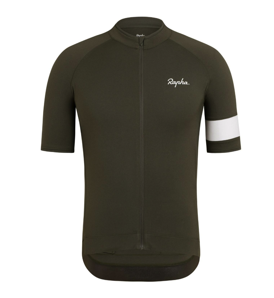 MAILLOT RAPHA CORE JERSEY DARK GREEN