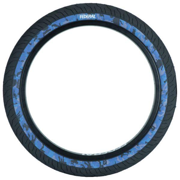 PNEU FEDERAL COMMAND LOW PRESSURE BLACK/BLUE CAMO