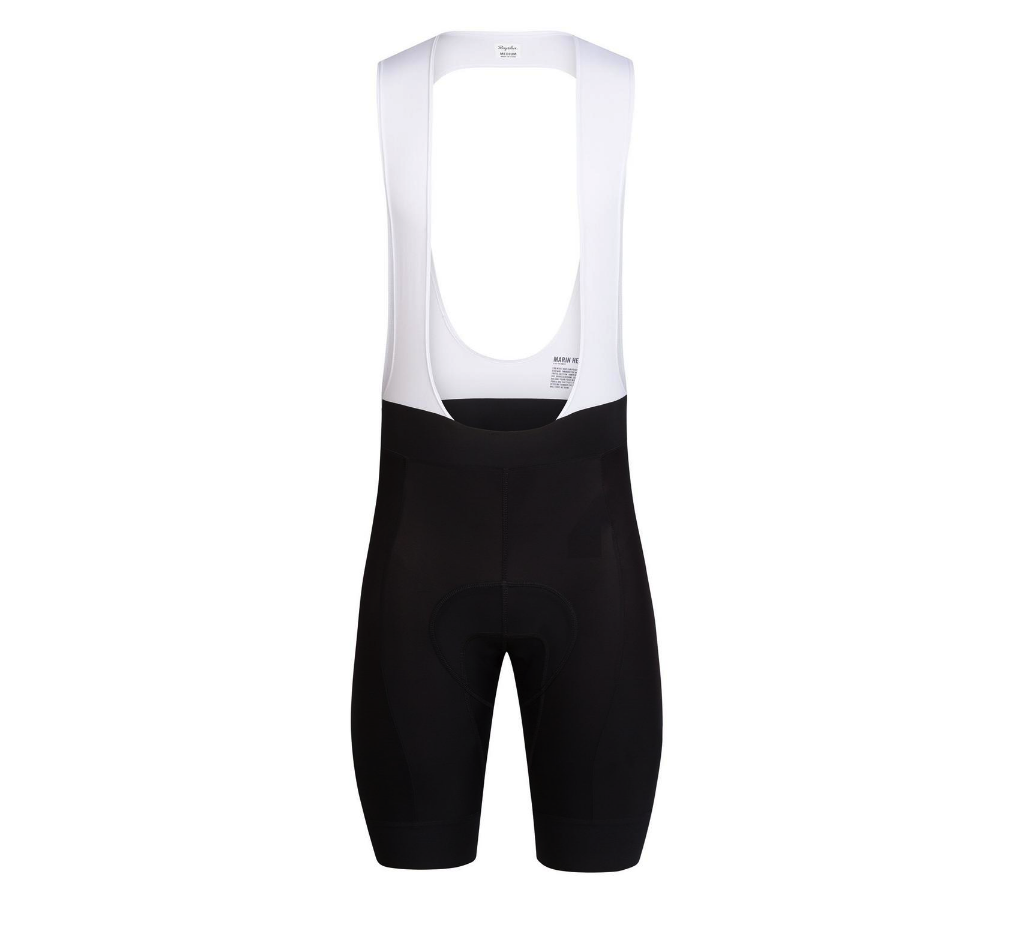 CUISSARD RAPHA CORE BIB SHORTS BLACK CREAM