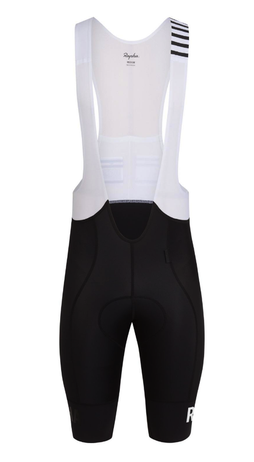 CUISSARD RAPHA PRO TEAM BIB SHORTS II LONG BLACK