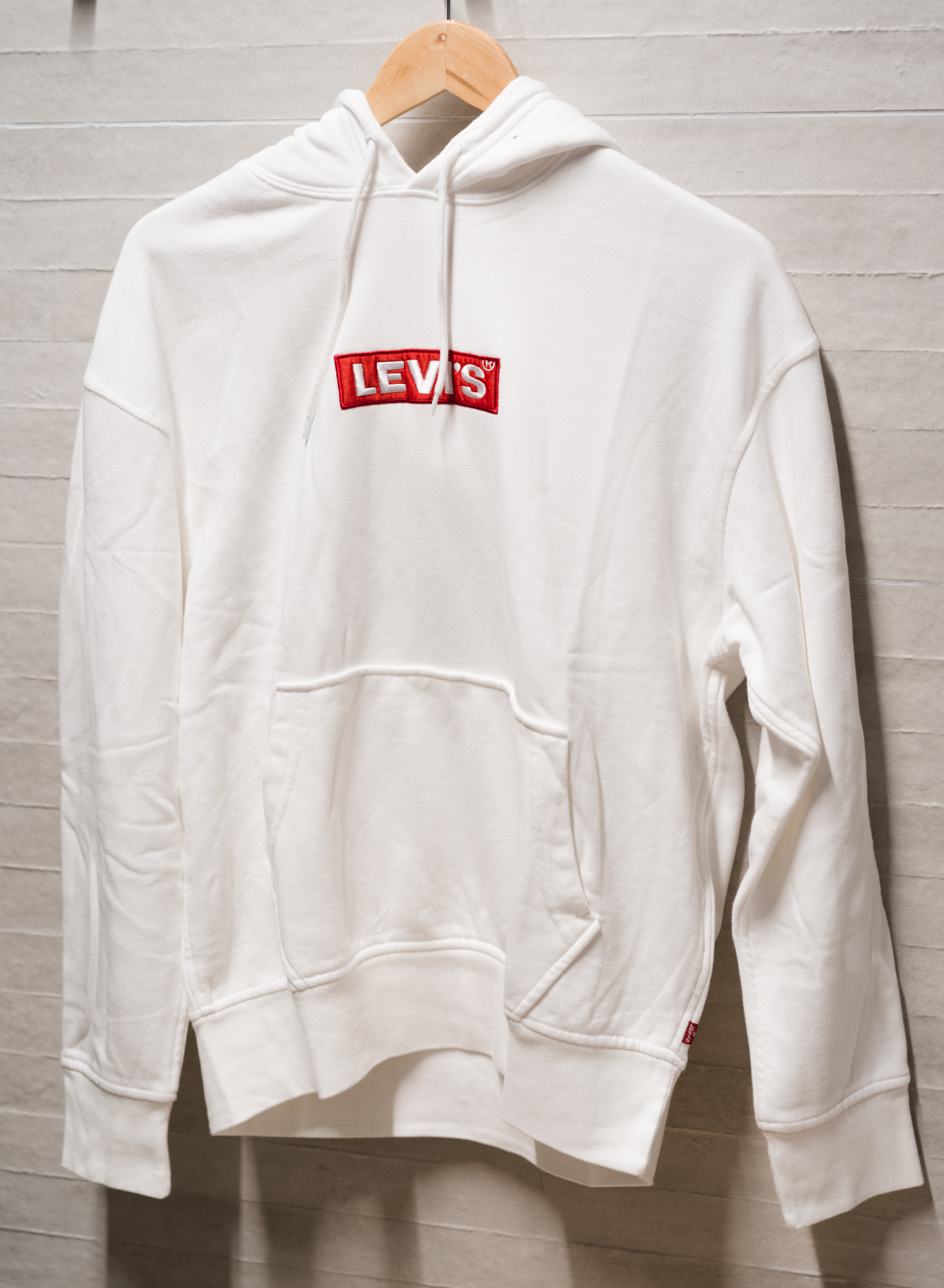 HOODIE LEVIS RELAXED GRAPHIC WHITE