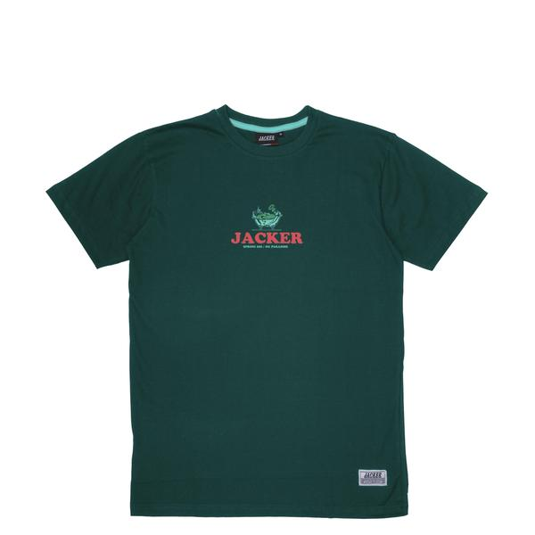 TEE SHIRT JACKER BUSINESS CLUB DARK GREEN