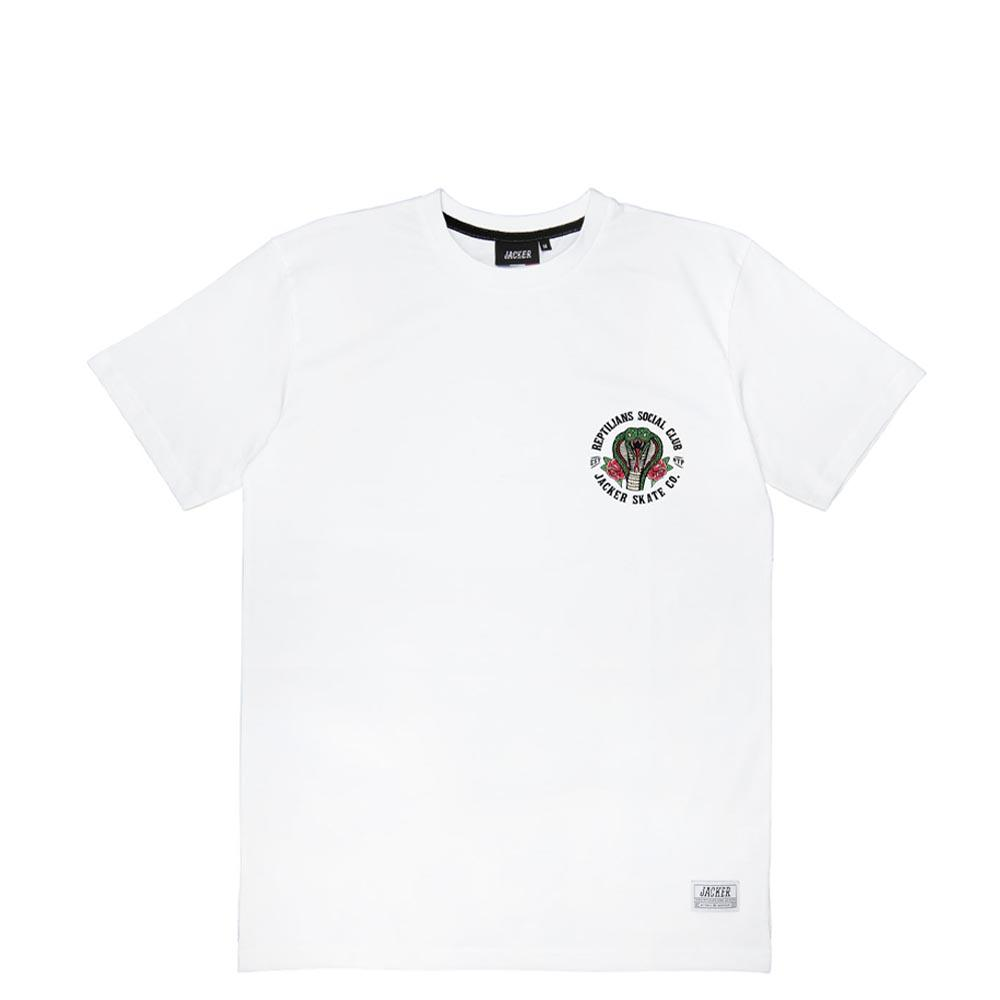 TEE SHIRT JACKER SOCIAL CLUB WHITE